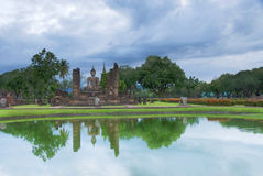 Luogo del patrimonio mondiale, Sukhothai Fotografie Stock