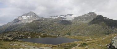 Luogo del rifugio del lago bianco, Francia Fotografie Stock Libere da Diritti