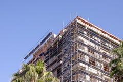 Luogo della costruzione di edifici fotografia stock