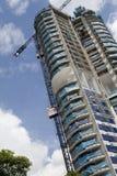 Luogo della costruzione di edifici Fotografia Stock Libera da Diritti