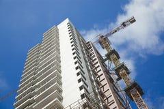 Luogo della costruzione di edifici Immagine Stock