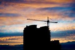 Luogo di Construcion Immagini Stock
