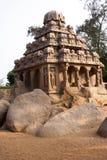 Luogo di eredità dell'Unesco, Mamallapuram fotografie stock libere da diritti