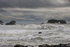 Luogo di perforazione di Wave fotografia stock