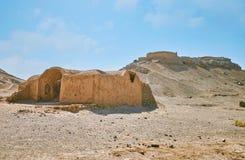Luogo di sepoltura dello zoroastriano, Yazd, Iran Fotografie Stock