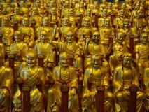Luohan或arhat在龙华寺 免版税库存图片
