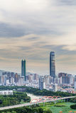 Luohu District, Shenzhen city construction daytime Stock Image