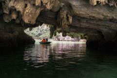 Luon Cave Royalty Free Stock Photography