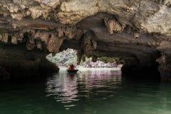 Luon-Höhle Lizenzfreies Stockfoto