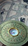 luopan kompass Royaltyfri Fotografi