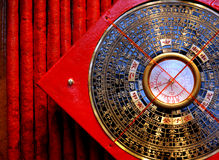 luopan kompass Arkivbilder