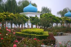 Luopu公园,洛阳 免版税库存图片