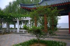 Luopu公园,洛阳 库存照片