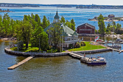 Luoto Island in the summer Stock Photos
