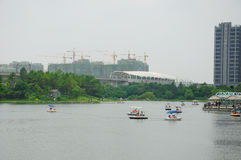 Luoxi Park Shanghai China Stock Photos