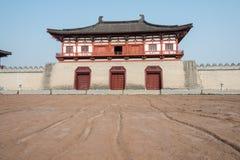 LUOYANG, ΚΙΝΑ - 18 ΝΟΕΜΒΡΊΟΥ 2014: Η οδός παραμένει εξωτερικό Dingding GA στοκ εικόνες