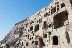 LUOYANG, ΚΙΝΑ - 13 ΝΟΕΜΒΡΊΟΥ 2014: Longmen Grottoes Κόσμος της ΟΥΝΕΣΚΟ αυτή Στοκ φωτογραφία με δικαίωμα ελεύθερης χρήσης