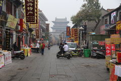 Luoyang Ancient Store Street Stock Photography