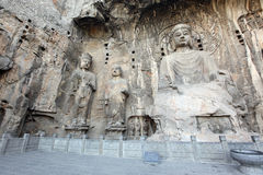 Luoyang The Buddha of Longmen Grottoes Royalty Free Stock Images