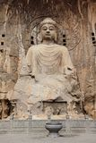Luoyang The buddha of Longmen Grottoes Royalty Free Stock Photos