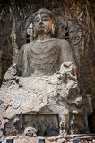 Luoyang . Buddha statue height of seventeen meters. Royalty Free Stock Image