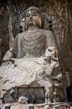 Luoyang Buddha-Statuenhöhe von siebzehn Metern Lizenzfreies Stockbild