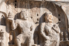 LUOYANG, CHINA - NOV 13 2014: Longmen Grottoes. UNESCO World her. Itage site in Luoyang, Henan, China royalty free stock photos