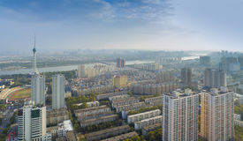 Luoyang city landscape China Royalty Free Stock Images