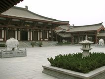 Luoyang Courtyard Royalty Free Stock Photos