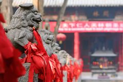 Luoyang Guan Lin fotografia stock libera da diritti