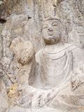 Luoyang Longmen grottoes. Buddha and the stone caves and sculptures in the Longmen Grottoes in Luoyang, China. Taken in 14th stock photos