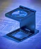 Lupa Imágenes de archivo libres de regalías