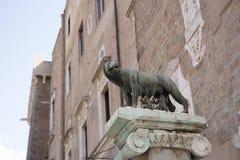 Lupa Capitolina 免版税库存照片