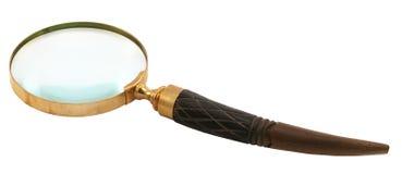 lupa del Antigüedad-estilo Fotografía de archivo libre de regalías