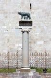 Lupa di Capitoline in Aquileia fotografia stock libera da diritti