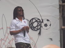 Lupe Fiasco Performs During USA Soccer Event Stock Images