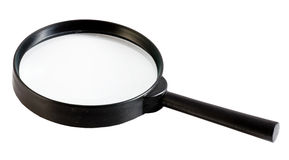 Lupe,  magnification glass Stock Photography