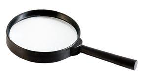 Lupe, vidrio de la ampliación Fotografía de archivo