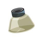 Lupenvektorillustration Lizenzfreies Stockfoto