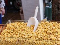 lupin bean at market Stock Photo