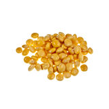 Lupin or Lupini Beans. Are the yellow legume seeds of Lupinus genus plants, primarily eaten as a pickled snack food. In Portugal they are very popular in Stock Photo