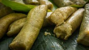Lupis ou lopis traditionnels de nourriture de pekalongan Image libre de droits