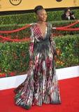 Lupita Nyong ' o imagens de stock royalty free