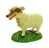 Lupo in vestiti della pecora Immagini Stock
