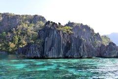 Luppolizzazione di isola di Coron Busuanga Fotografia Stock Libera da Diritti