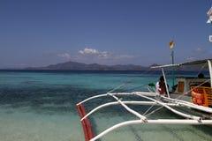Luppolizzazione di isola, Palawan fotografia stock