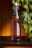 Luppolo e birra Fotografie Stock