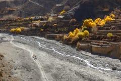 Lupra Village, Nepal Royalty Free Stock Photography