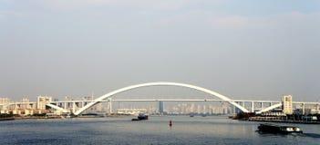 lupu Σαγγάη γεφυρών Στοκ Φωτογραφίες