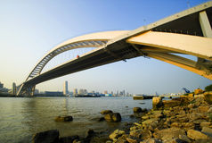 Lupu Brücke Lizenzfreies Stockbild